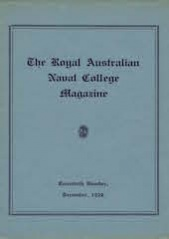 Royal Australian Naval College Magazine 1932 cover
