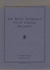 Royal Australian Naval College Magazine 1935 cover