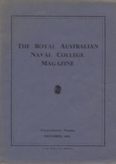 Royal Australian Naval College Magazine 1936 cover