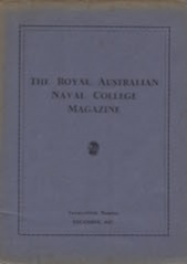 Royal Australian Naval College Magazine 1937 cover