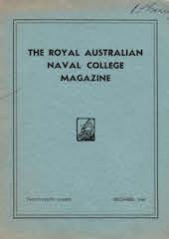 Royal Australian Naval College Magazine 1940 cover