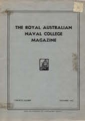 Royal Australian Naval College Magazine 1942 cover