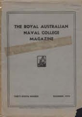 Royal Australian Naval College Magazine 1950 cover