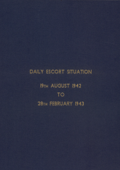 Daily Escort Situation - August 1942