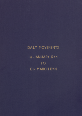 Daily Movement Summaries - January 1944