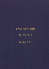 Daily Movement Summaries - May 1942