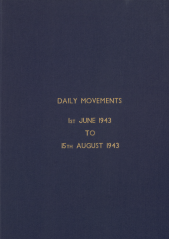 Daily Movement Summaries - June 1943