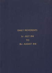 Daily Movement Summaries - July 1941