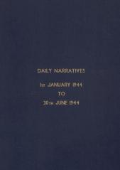 Daily Operational Narratives - January 1944