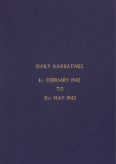 Daily Operational Narratives - February 1942