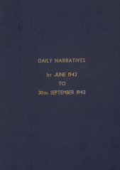 Daily Operational Narratives - June 1942
