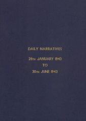 Daily Operational Narratives - January 1943