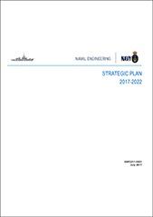 Naval Engineering Strategic Plan 2017-2022 Cover