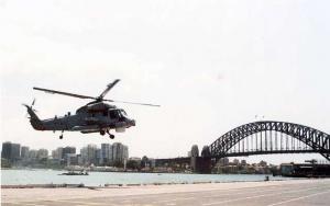 Super Sea Sprite departing Sydney Harbour