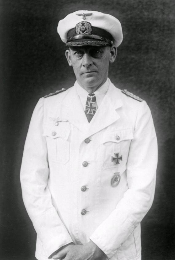 Kapitän zur See Theodor Anton Detmers