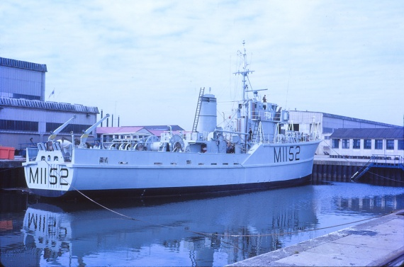 HMAS Teal before her voyage to Australia. (Brian Simpson collection)