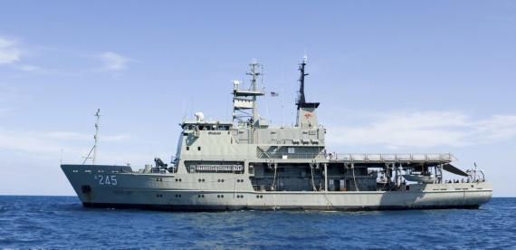 HMAS Leeuwin.