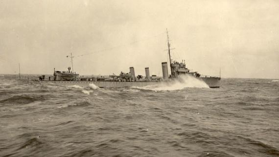 HMAS Anzac in Australian service circa 1929
