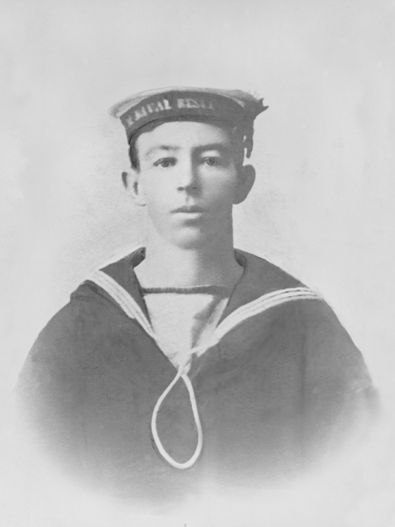 Able Seaman W.G.V. Williams