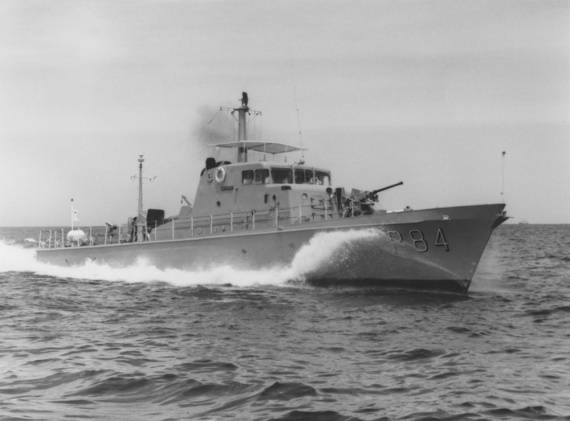 HMAS Aitape was one of twenty Attack-class patrol boats ordered for the RAN.