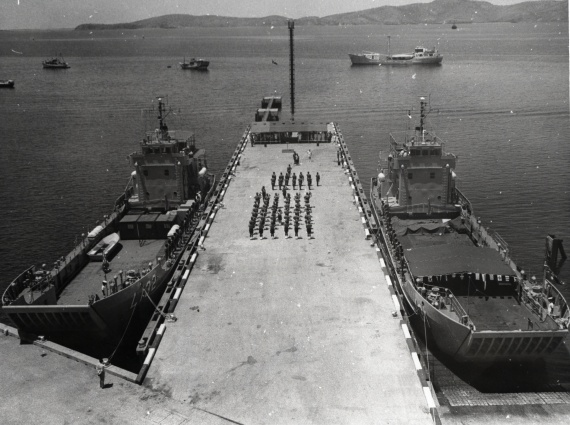 HMA Ships Buna and Salamaua commissioning into the Papua New Guinea Defence Force