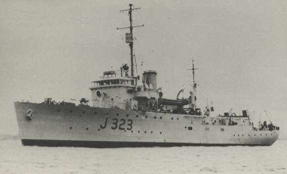 Commissioned on 27th April 1943, HMAS Benalla was one of sixty Australian Minesweepers built during World War II