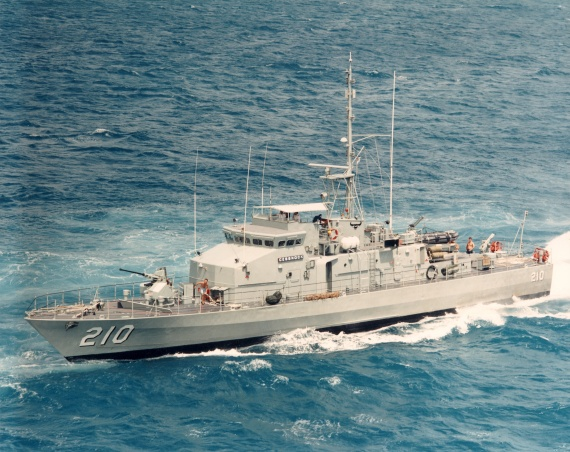 HMAS Cessnock, named after the city of Cessnock was one of 15 Fremantle Class Patrol Boats commissioned into the Royal Australian Navy