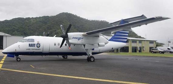 de Havilland Dash 8-200 LADS.
