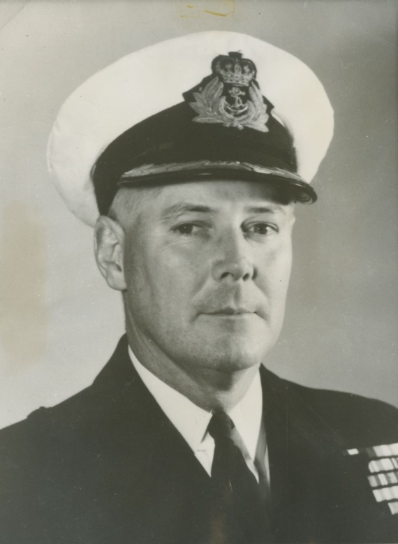 Commander J.M. Ramsay, RAN, was appointed captain of HMAS Arunta following her recommissioning in November 1952.