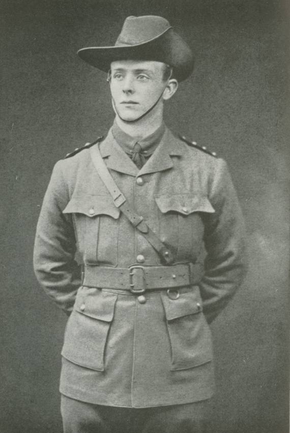 Captain B.C.A. Pockley of the Australian Army Medical Corps