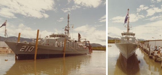Cessnock after launching.