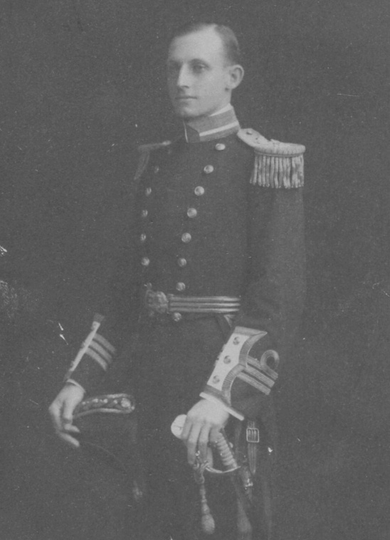 Captain J.S. Dumaresq (seen here as a commander) assumed command of Sydney in February 1917.