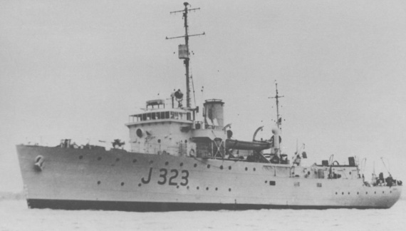 Commissioned on 27 April 1943, HMAS Benalla was one of sixty Australian minesweepers built during World War II.