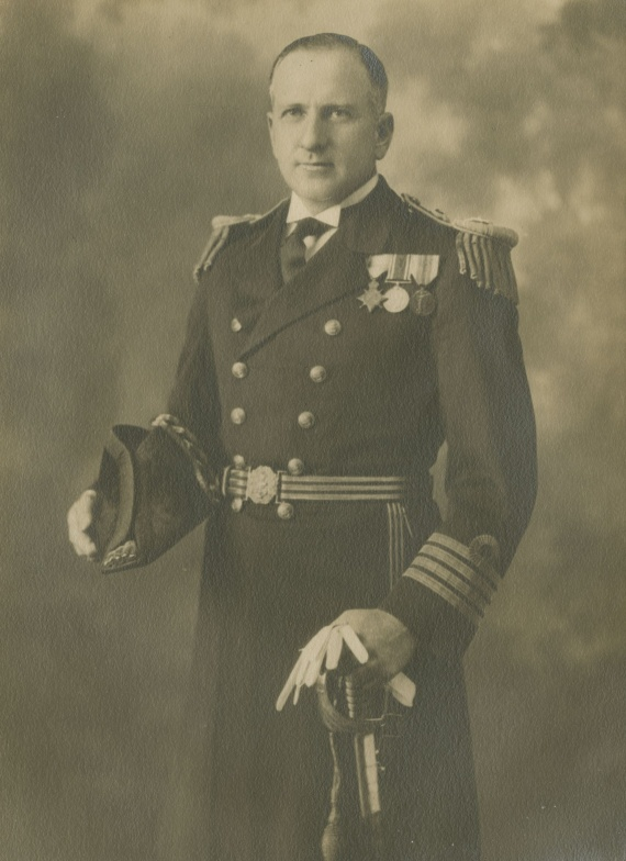 Surgeon Captain L. Darby c.1932