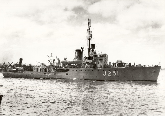 HMAS Dubbo was one of sixty Australian Minesweepers built for service during World War II