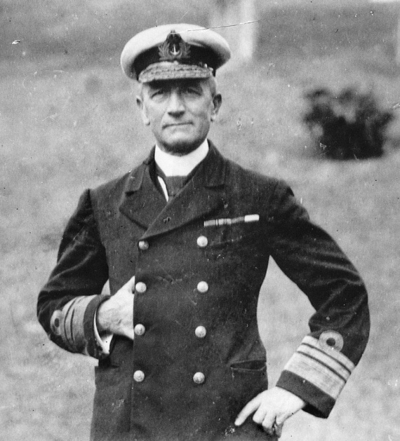 Vice Admiral Sir George Edwin Patey, KCMG, KCVO, RN