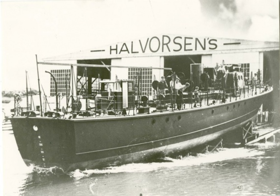 ML 819 was one of eleven Fairmile motor launches built by Halvorsens of Sydney