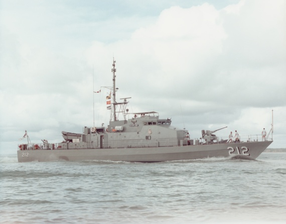HMAS Gawler was one of 14 Fremantle Class Patrol Boats built to replace the Attack Class