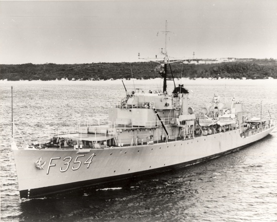 HMAS Gascoyne was one of 12 River Class frigates commissioned into the Royal Australian Navy during World War II