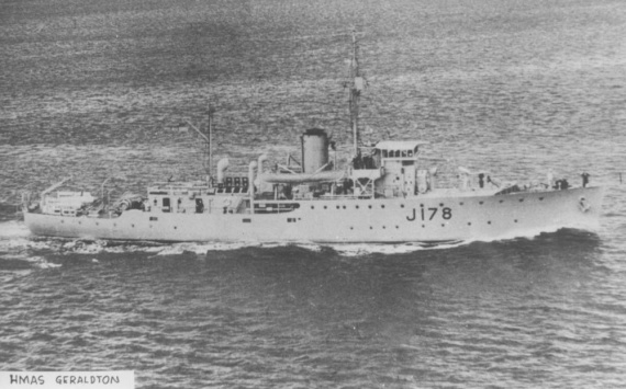HMAS Geraldton was one of sixty Australian Minesweepers built for service during World War II.