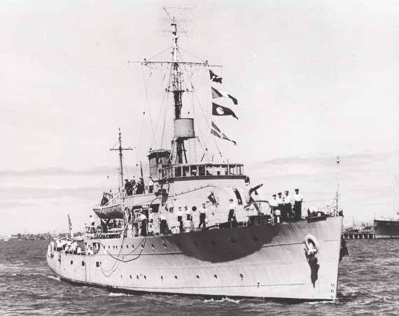 HMAS Gladstone was one of sixty Australian Minesweepers built for service during World War II
