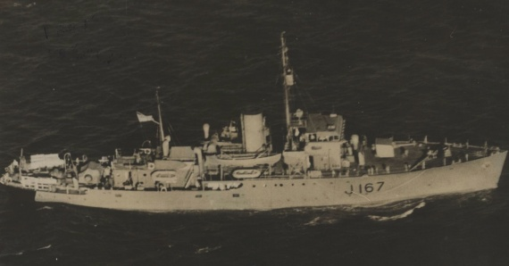 HMAS Goulburn was one of sixty Australian Minesweepers built for service during World War II