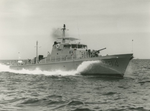 HMAS Aitape was one of twenty Attack class patrol boats ordered for the RAN.