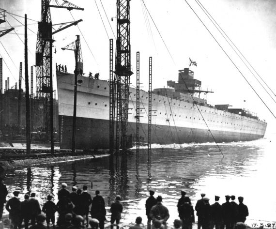 Australia's launching 17 March 1927