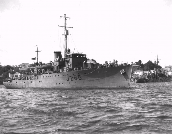 HMAS Bowen was one of sixty Australian Minesweepers commissioned into the Royal Australian Navy during World War II.