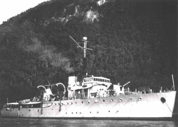 HMAS Kalgoorlie was one of sixty Australian Minesweepers built for service during World War II