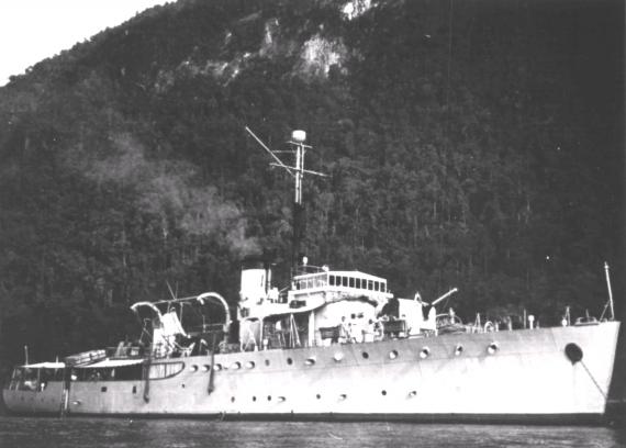 HMAS Kalgoorlie was one of sixty Australian Minesweepers built for service during World War II