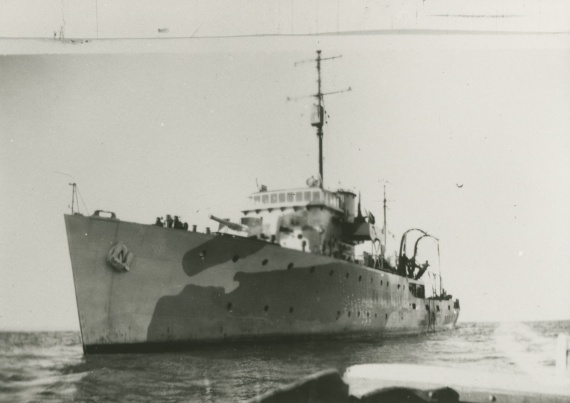 HMAS Horsham was one of sixty Australian Minesweepers built for service during World War II
