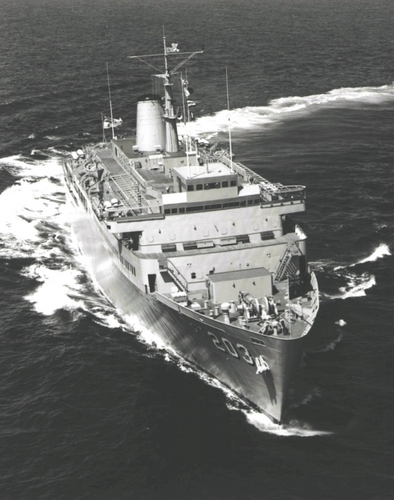 HMAS Jervis Bay during her second training cruise in March 1978. Among the trainees were junior officers from Papua New Guinea, Malaysia, the Philippines and Fiji.