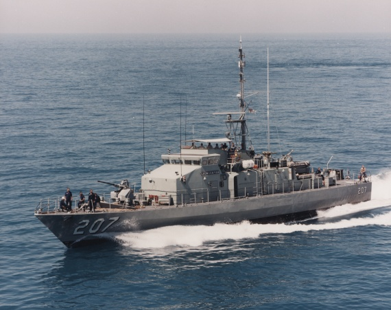 HMAS Launceston was one of 14 Fremantle Class Patrol Boats commissioned into the Royal Australian Navy to replace the Attack Class of patrol boats.